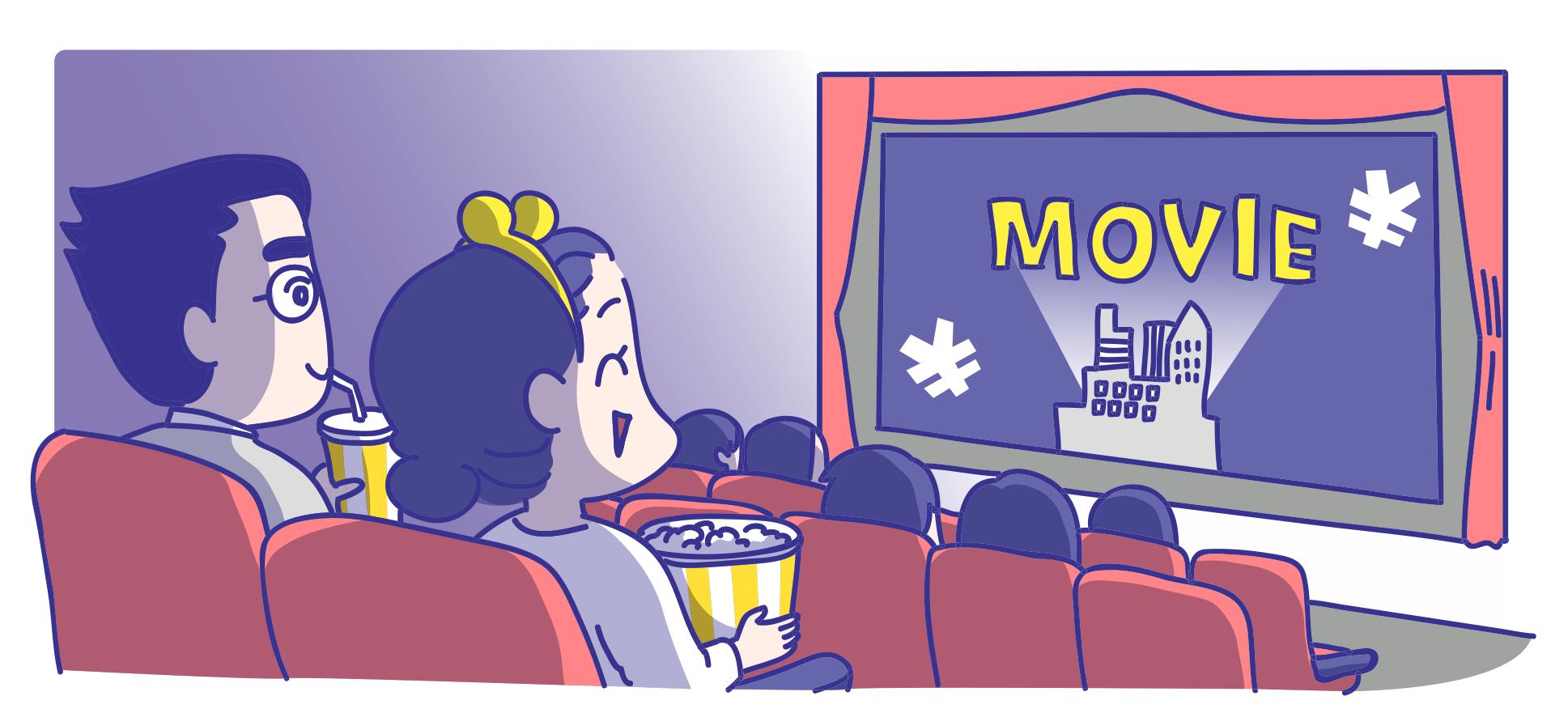 映画館の座席での飲食なら軽減税率?